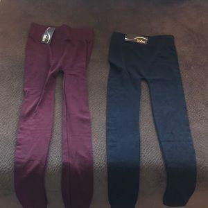 sofra fleece leggings
